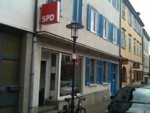 Haus der SPD, Ludwigsburg, Bärenstr. 5